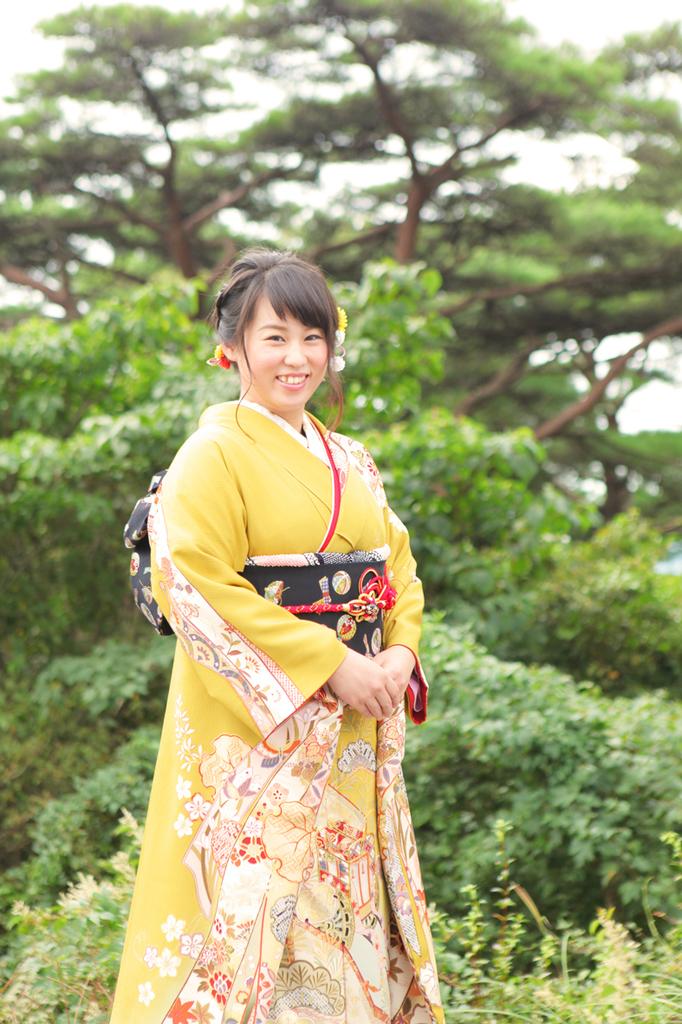 素敵な成人式の前撮りでした。神戸