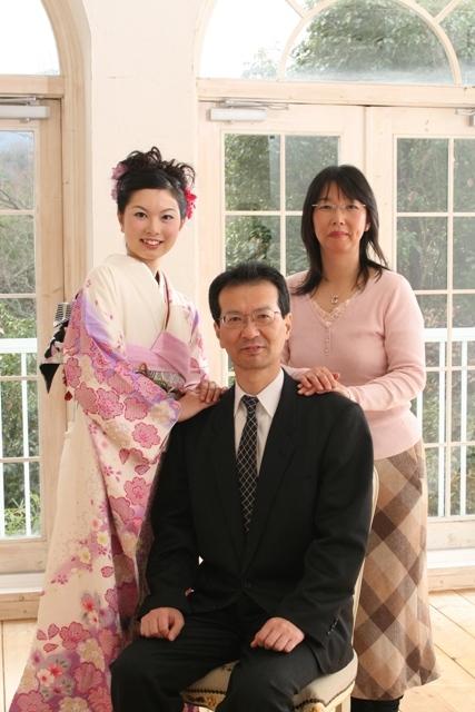 家族写真の自分が一番楽しそうでした。
