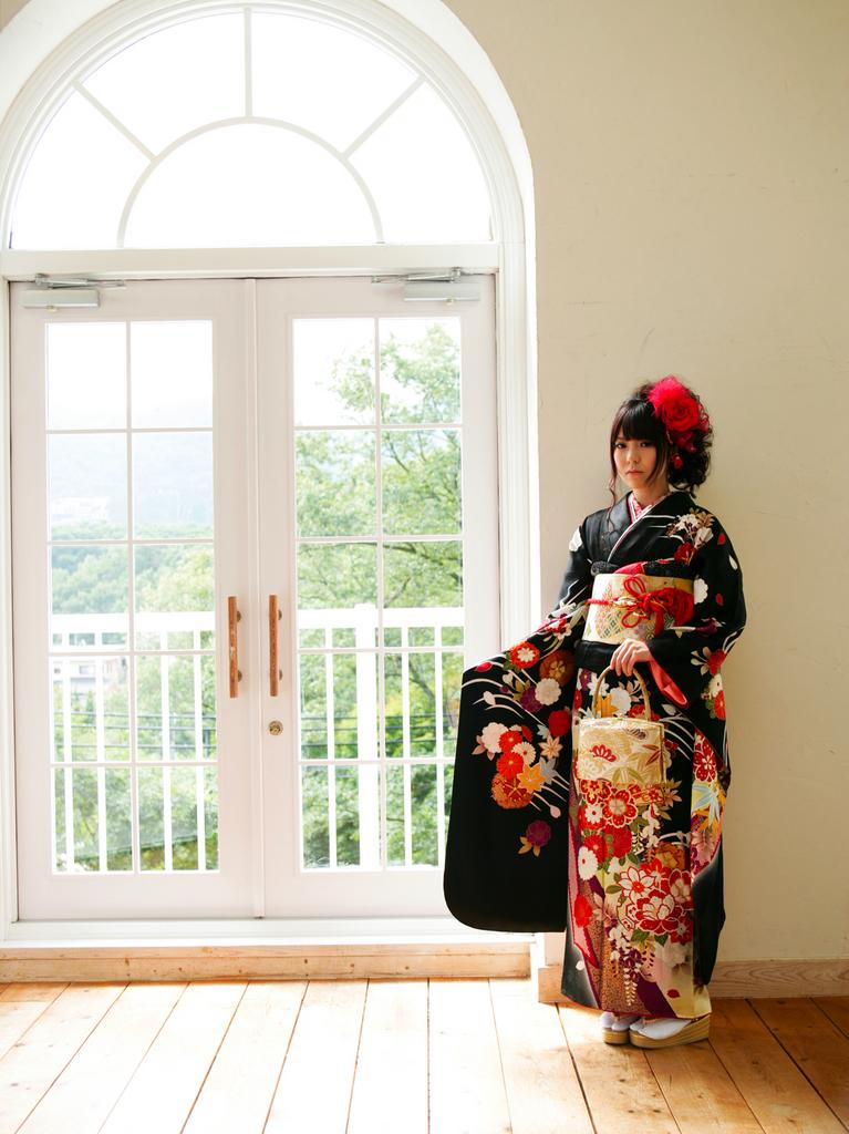黒の振袖_神戸で一番美しい前撮り