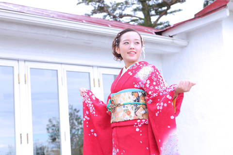 神戸六甲山で、一生思い出に残る二十歳の記念写真を撮る